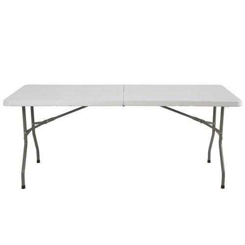 6u2032 Multipurpose Utility Center Fold Folding Table ...