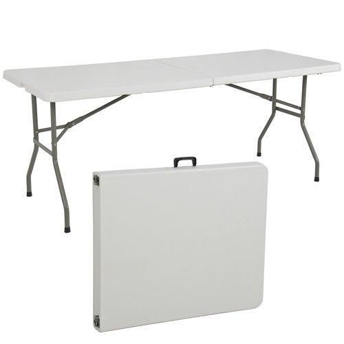 Charmant 6u2032 Multipurpose Utility Center Fold Folding Table ...